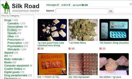 Silk Road screen shot
