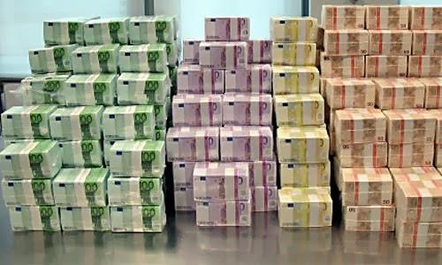 beschlagnahmtes geld