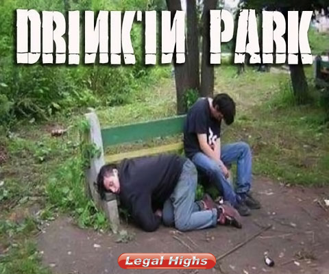Drinkinpark drunk in the park