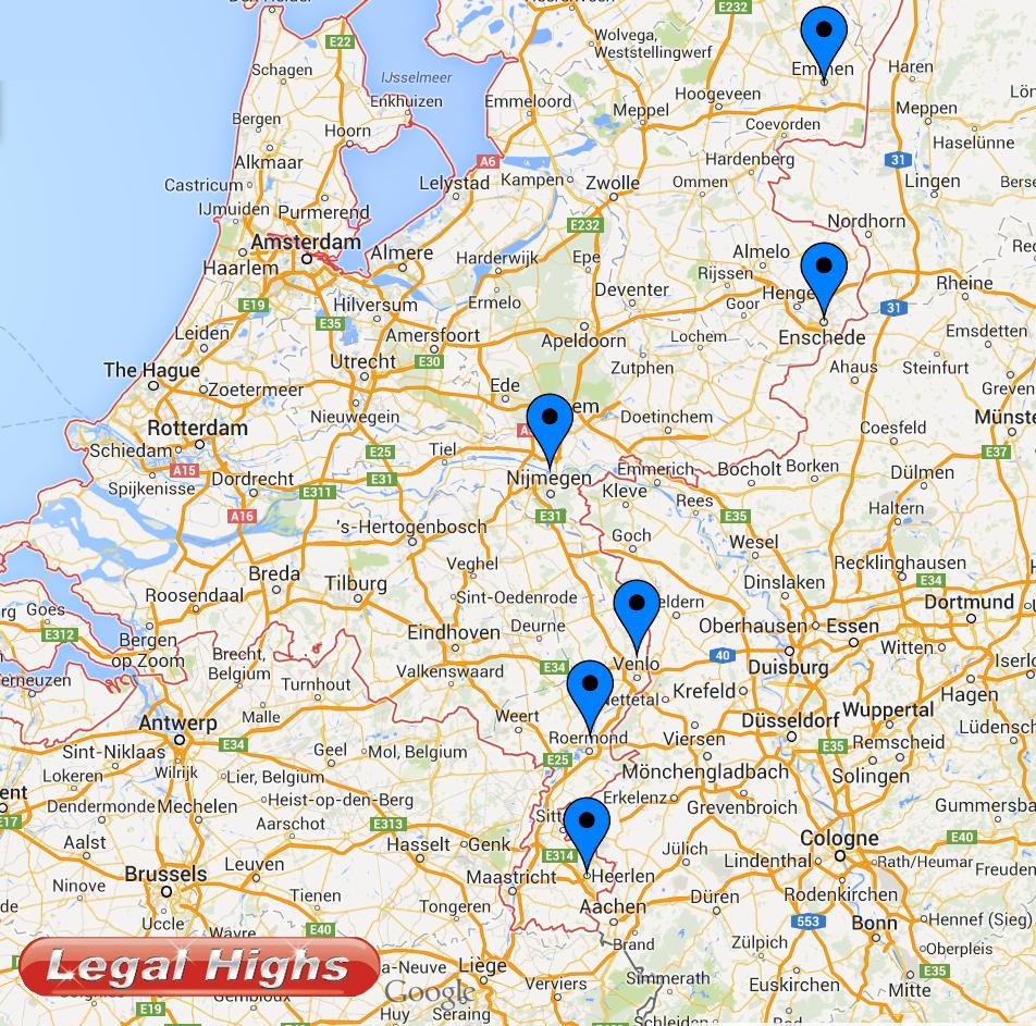 Smartshops Karte