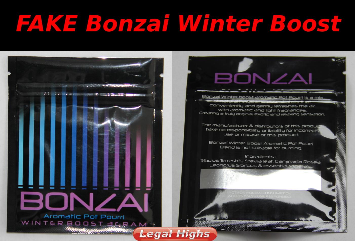 Bonzai Winter Boost Fälschung